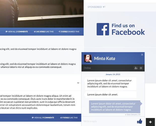 Редизайн дня: полностью новая веб-версия Facebook. Изображение № 16.
