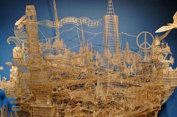 Изображение 1. 35 лет труда: уникальная работа Kinetic San Francisco.. Изображение № 2.