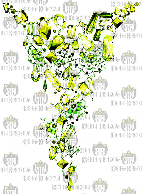 Preview коллекции Весна-Лето 2012 by Ksenia Knyazeva. Изображение № 28.