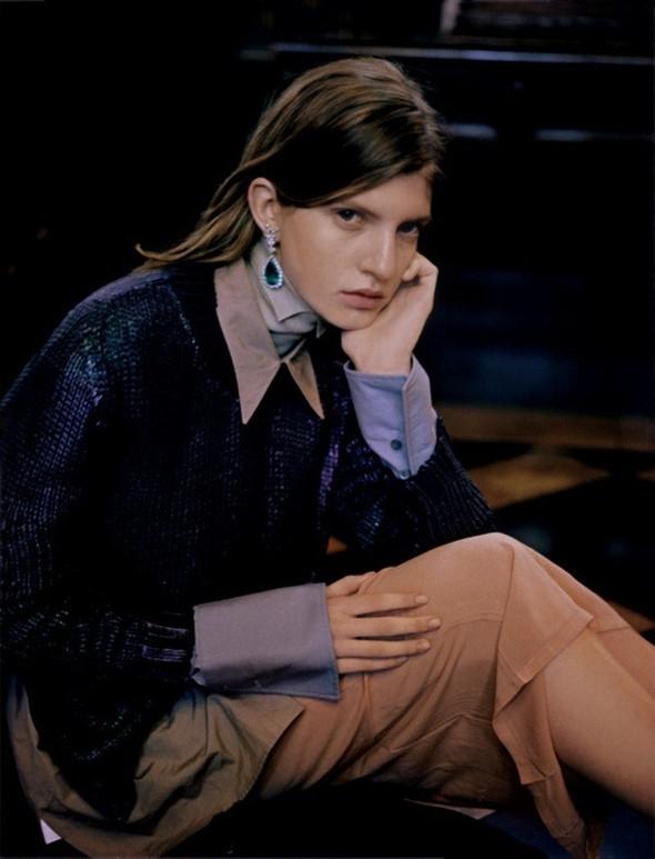 Новые съемки: Vogue, Nylon и другие. Изображение № 33.