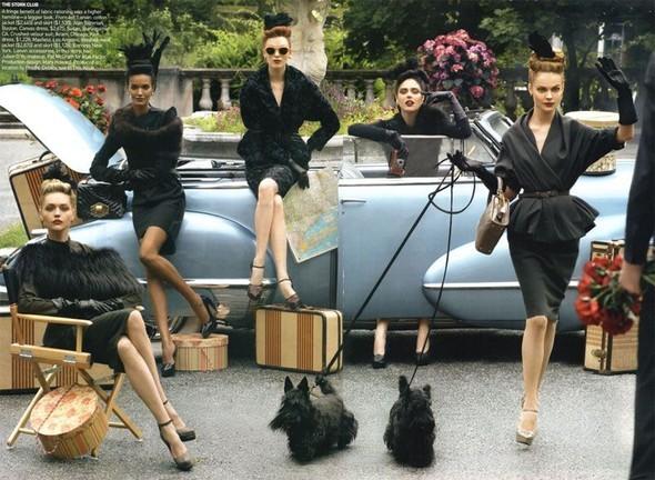 InThe Mood. Vogue US September 2009. Изображение № 1.