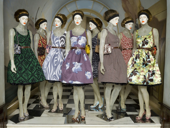 Цветочная коллекция Prada. Изображение № 1.
