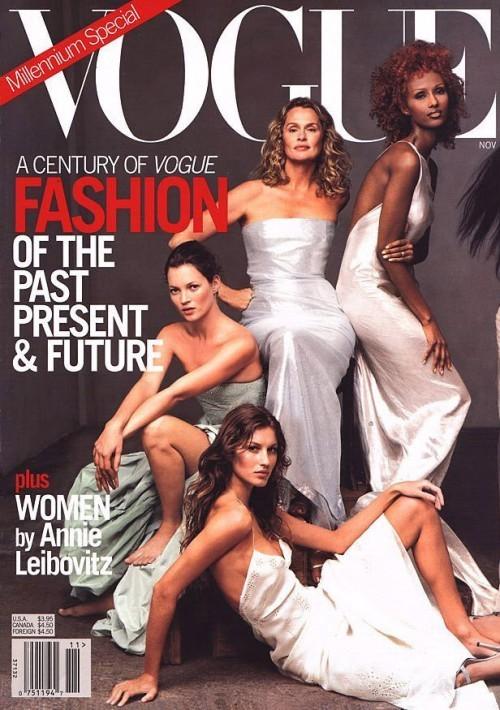 Вспомнить все или 11 обложек Жизель для Vogue US. Изображение № 2.