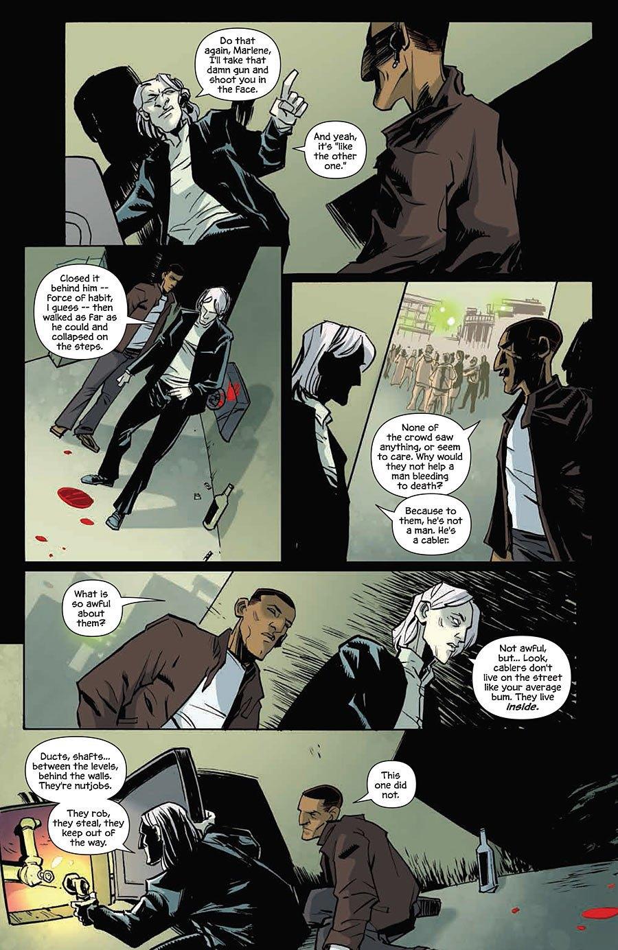 Автор комикса The Fuse об отношении иностранцев к России и женщинах-полицейских. Изображение № 9.