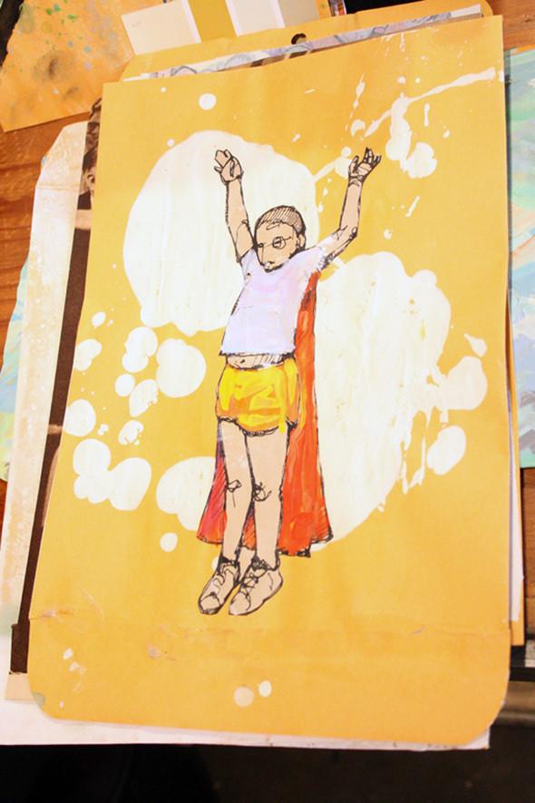 Изображение 11. Рисунки на конвертах Sage Vaughn.. Изображение № 11.