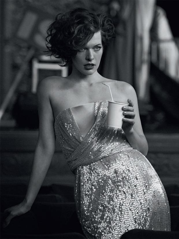 Вышли новые съемки Vogue, i-D, 10 и Interview. Изображение № 58.