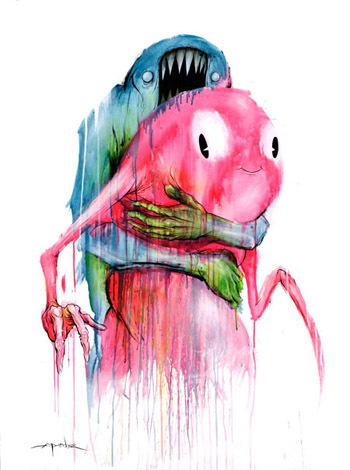 "Alex Pardee ""If i am not creating, i will die. "". Изображение № 8."