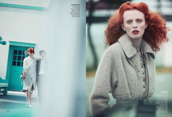 Съёмка: Карен Элсон для Vogue. Изображение № 2.