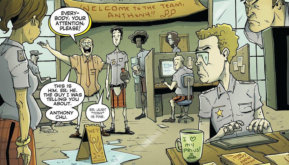 Как сделать захватывающий детективный комикс о еде. Изображение № 5.