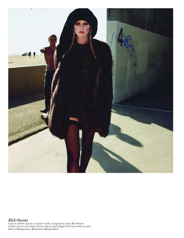 Съёмка: Аризона Мьюз, Лара Стоун, Наташа Поли и другие модели во французском Vogue. Изображение № 51.