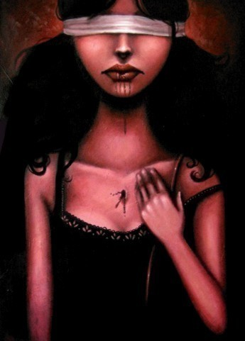Sarah Joncas – девушки, рыбы измеи. Изображение № 3.