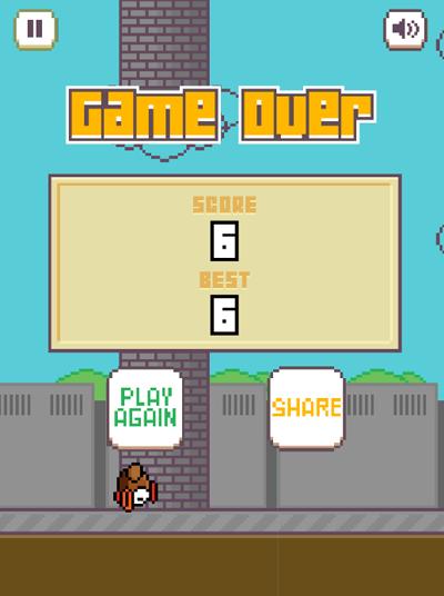 Netflix прорекламировал сериал клоном Flappy Bird. Изображение № 2.