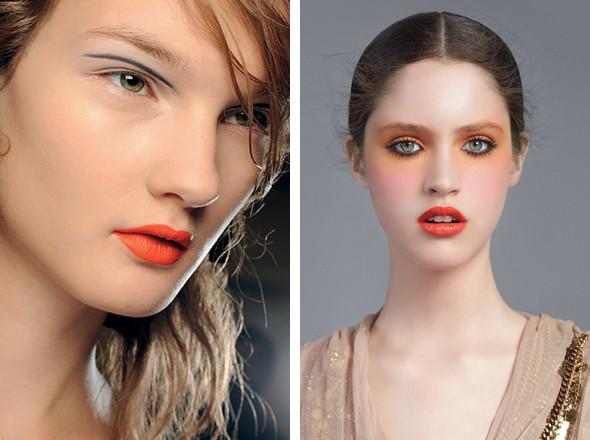 Изображение 17. Красная стрела: тенденции макияжа SS 2011.. Изображение № 2.