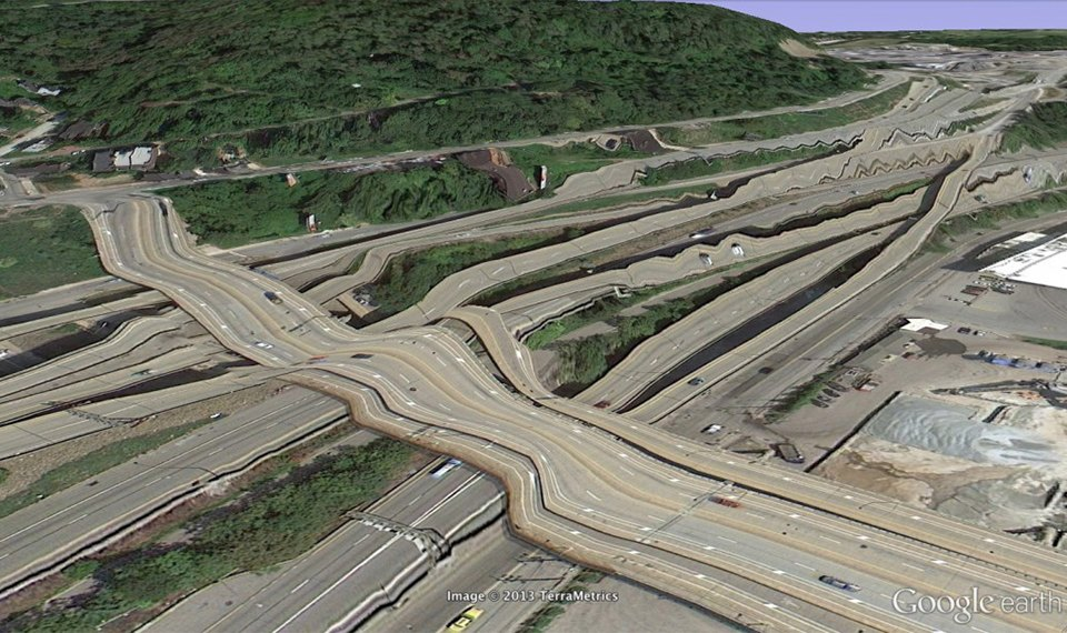 32 фотографии из Google Earth, противоречащие здравому смыслу. Изображение №19.