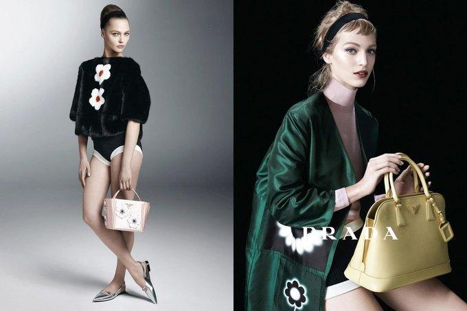 Max Mara, Prada и другие марки выпустили новые кампании. Изображение № 35.