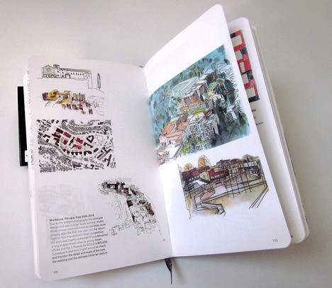 Moleskine Inspiration And Process In Architecture. Изображение № 15.