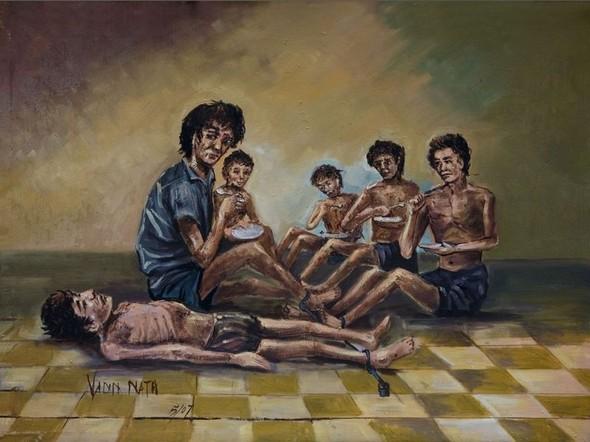 Кхмерский художник Vann Nath. Изображение № 8.
