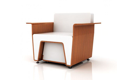 Мебельный минимализм Востока (Miso Soup Design). Изображение № 1.