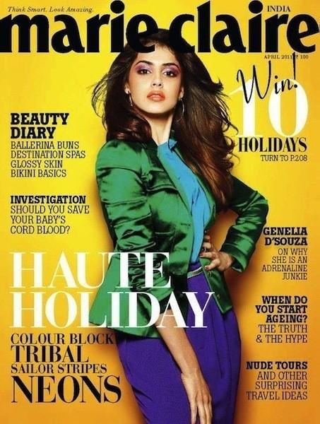 Коллекция Gucci SS 2011 появилась на 50 обложках журналов. Изображение № 36.