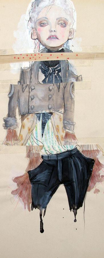 Изображение 3. Fashion-иллюстрационация от Anne Sofie Madsen.. Изображение № 3.