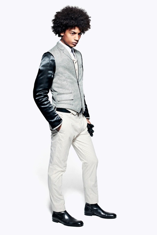 Мужские лукбуки Alexander McQueen, Comme des Garcons, Louis Vuitton и Club Monaco. Изображение № 16.