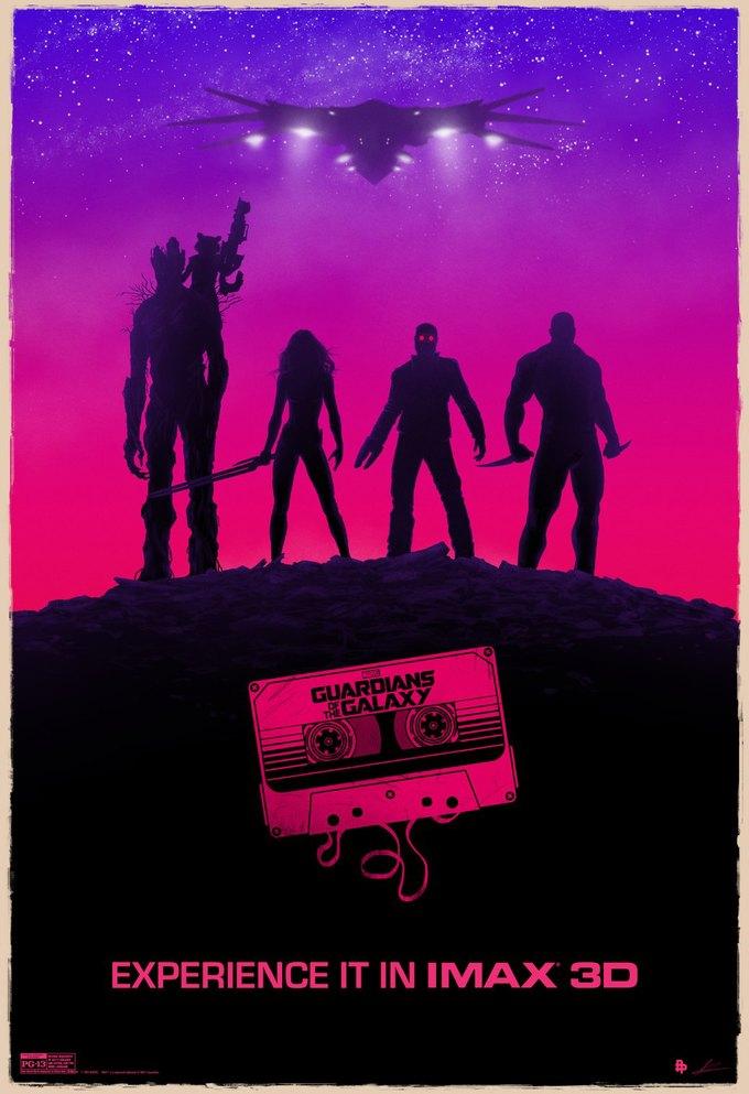 Опубликованы 44 фанатских постера к «Стражам Галактики». Изображение № 42.