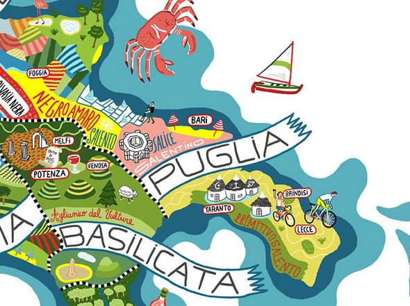 Винная карта Италии от Antoine Corbineau. Изображение № 8.