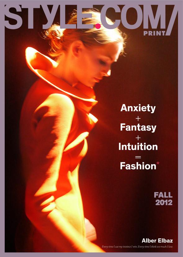 Обложки: Harper's Bazaar, Playing Fashion, Style.com/Print и другие. Изображение № 7.