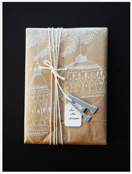 55 идей для упаковки новогодних подарков. Изображение №132.
