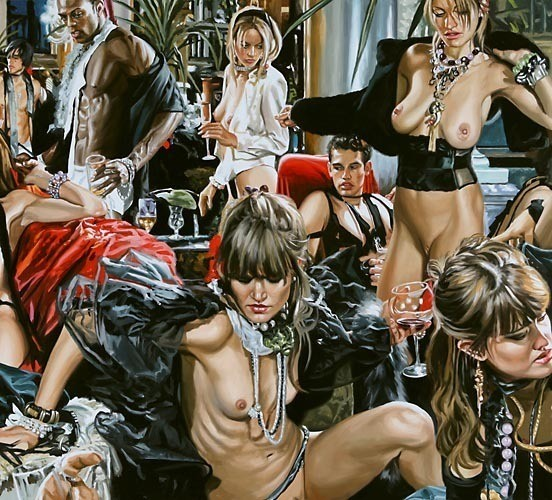 Изображение 32. Терри Роджерс выбрал для своего творчества тему молодежных фетишей: желание во всех ее переизбытках.. Изображение № 32.