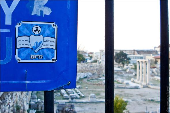 Стрит-арт и граффити Афин, Греция. Часть 2. Изображение № 12.