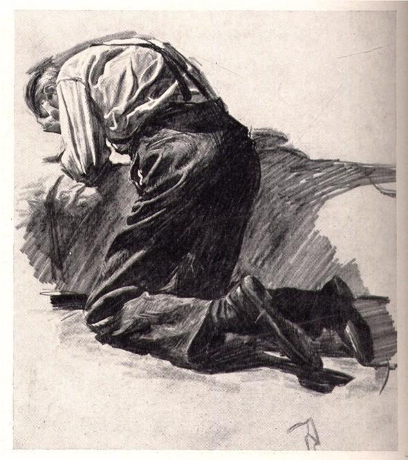 Американские иллюстраторы 40–60гг. ЧАСТЬ 1. Изображение № 45.