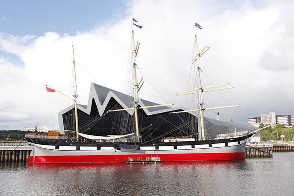 Изображение 2. Музей транспорта Glasgow Riverside от Zaha Hadid.. Изображение № 2.