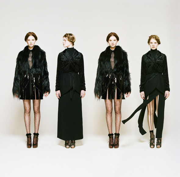 Лукбук: Rodarte for Opening Ceremony FW 2011. Изображение № 3.