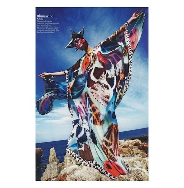 Изображение 9. Съемки: Harper's Bazaar, Industrie, Vogue и другие.. Изображение № 56.