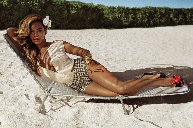 Бейонсе снялась в кампании H&M. Изображение № 1.