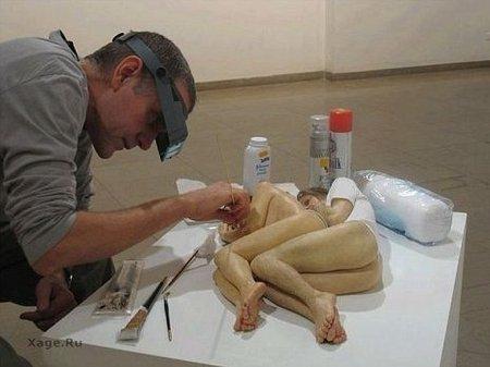 Гиперреалистичные скульптуры. Изображение № 1.