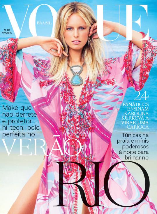 Обложки Vogue: Бразилия и Мексика. Изображение № 1.