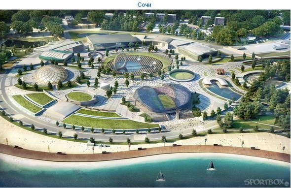 Архитектурные амбиции России для ЧМ по футболу 2018-22. Изображение № 15.