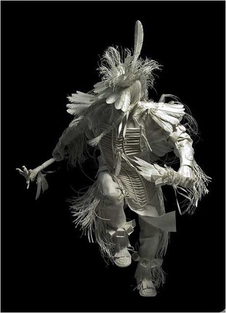 Бумажные скульптуры. Изображение № 17.