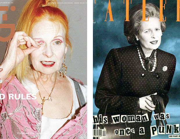 Вивьен Вествуд на обложках i-D и Tatler. Изображение № 59.