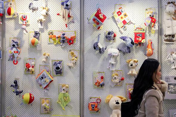 Изображение 2. Выставка-ярмарка игрушек в Гонконге.. Изображение № 2.
