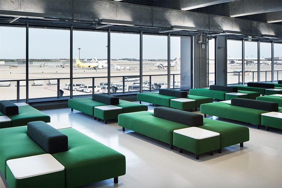 Фото: безупречный минимализм аэропорта вТокио. Изображение № 10.