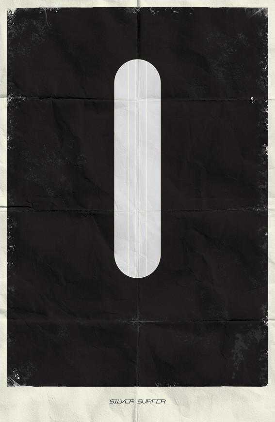 Минималистичные постеры для Marvel Comics. Изображение № 4.