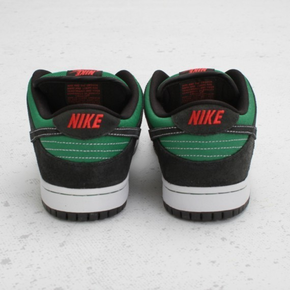 Nike SB Dunk Low Premium Pine Green Woodgrain. Изображение № 2.