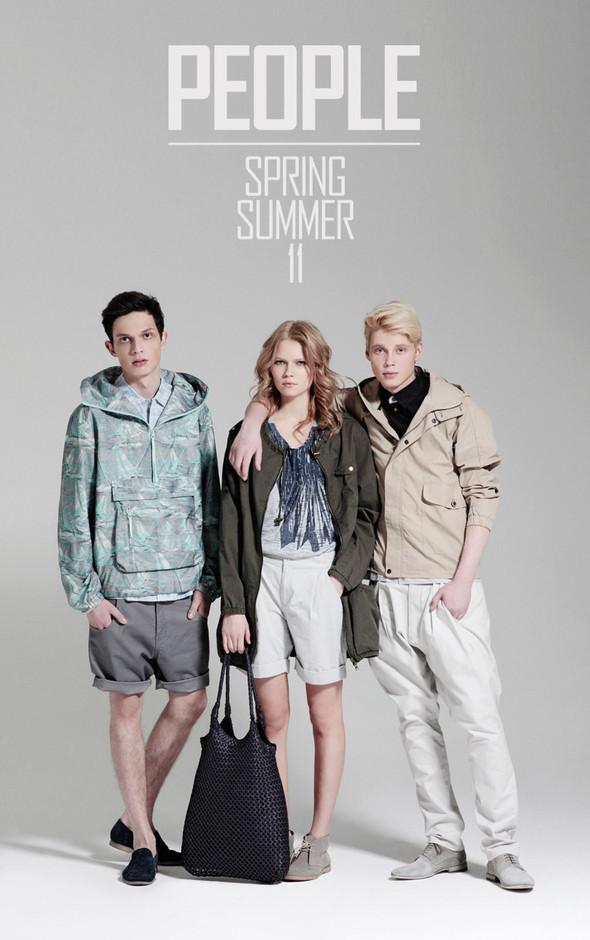 Изображение 1. К сезону весна/лето 2011 PEOPLE выпустили свежую коллекцию.. Изображение № 1.
