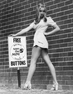 История мини-юбки. Изображение № 4.