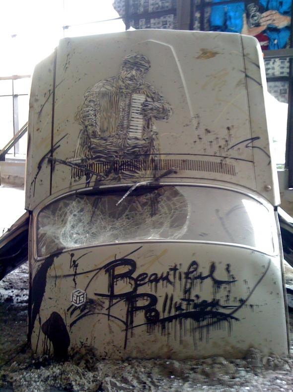 Изображение 5. «Я не граффитчик, я стрит-артист».. Изображение № 4.