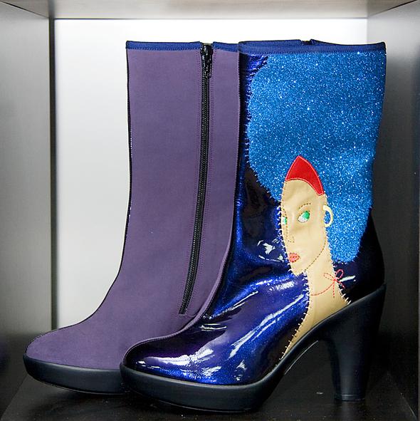 Испанская обувь. Изображение № 7.
