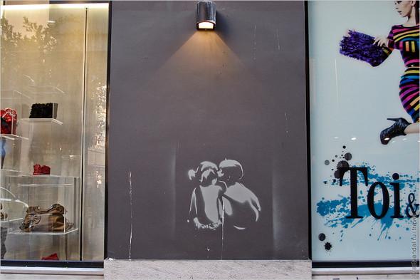 Стрит-арт и граффити Афин, Греция. Часть 2. Изображение № 13.